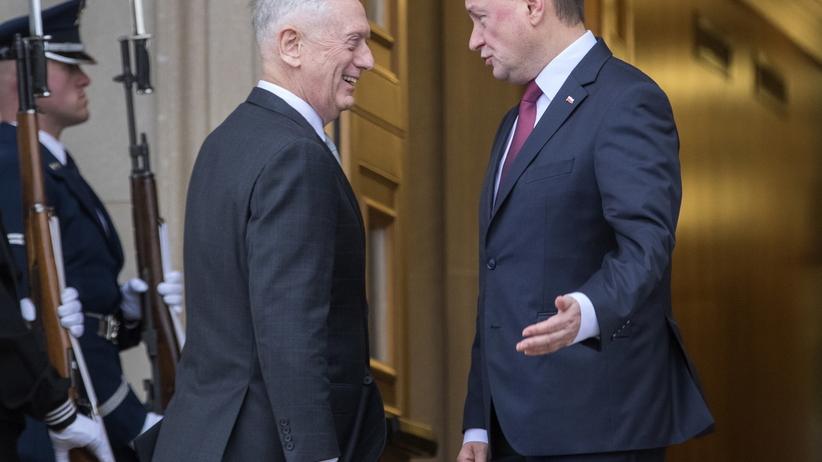 Jim Mattis i Mariusz Błaszczak