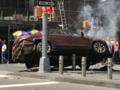Rozpędzone auto wjechało w pieszych w Nowym Jorku
