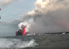 USA. Bomba wulkaniczna wybuchła obok statku. 23 rannych