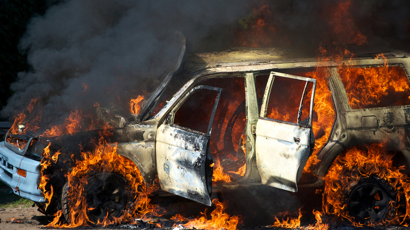 Eksplozja samochodu. Nie żyją 3 osoby