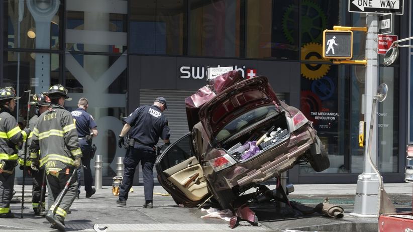 Incydent na Times Square był prawdopodobnie wypadkiem