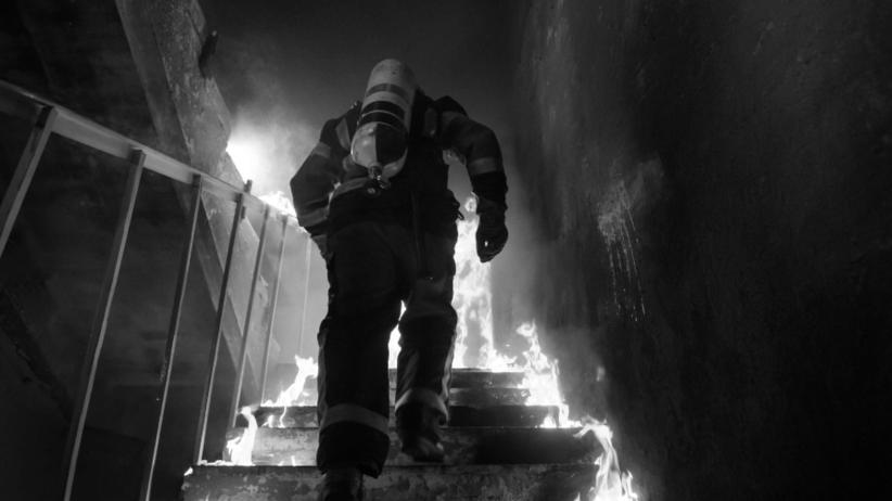 """Mieszkaniec domu starości zabił strażaka. """"Osierocił żonę i dwoje dzieci"""""""