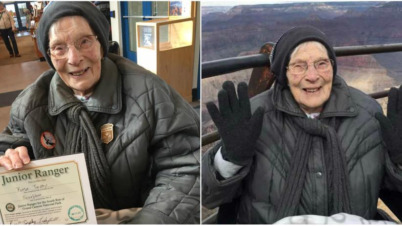 USA. Pewna 103-latka została młodszym strażnikiem. Jest starsza niż park narodowy