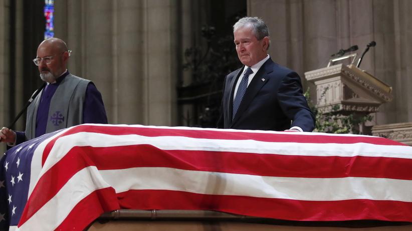USA. Pogrzeb George'a H.W. Busha w Waszyngtonie