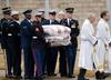 USA. Pogrzeb George H.W. Busha. Spoczął w Teksasie obok żony i córki