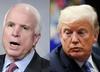 USA. Prezydent Donald Trump nie weźmie udziału w pogrzebie Johna McCaina