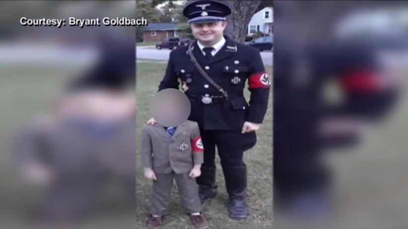 Przebrał syna za… Hitlera. Tak świętował Halloween