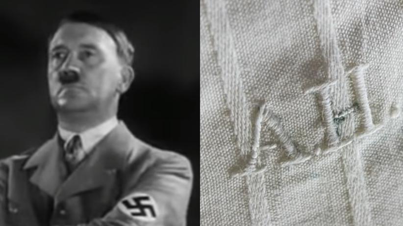 Bielizna Hitlera sprzedana na aukcji w USA [WIDEO]