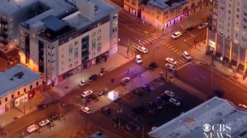 Strzelanina w Denver. Napastnik otworzył ogień w centrum miasta [WIDEO]