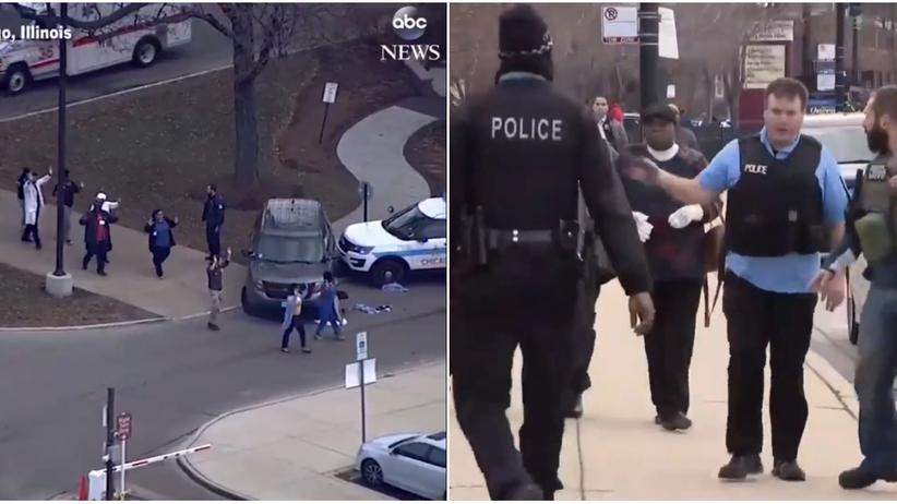 USA. Strzelanina w szpitalu w Chicago. Policja: jest wiele ofiar