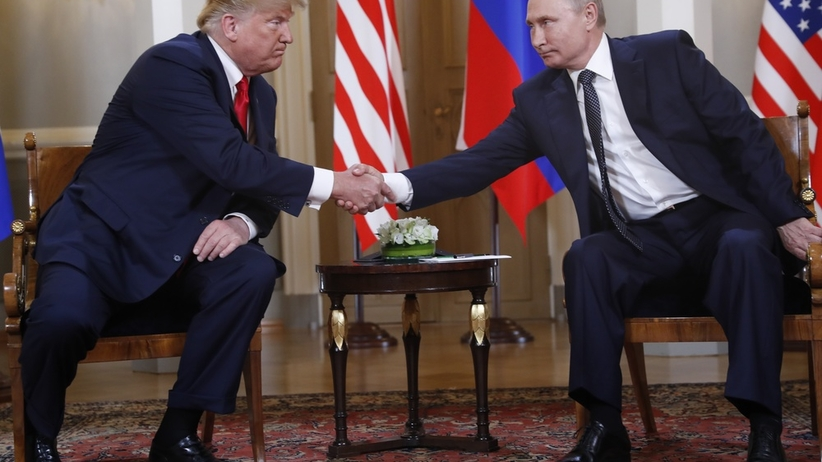 USA. Trump polecił zaprosić Putina do Białego Domu
