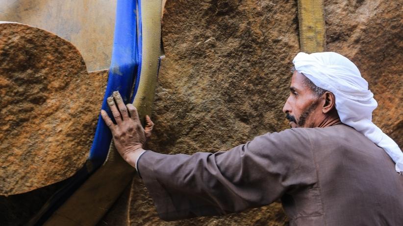 Niezwykłe znalezisko w Egipcie: wielki posąg faraona Ramzesa
