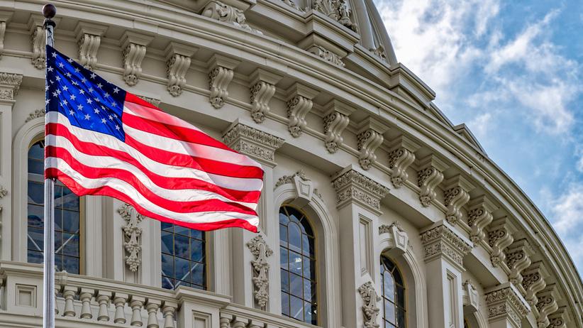 Ewakuacja jednego z budynków Kongresu USA