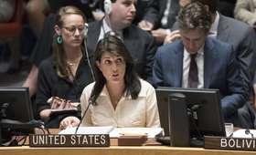 Ambasadorka USA przy ONZ chwali Izrael. Wychodzi z sali na przemówieniu reprezentanta Palestyny