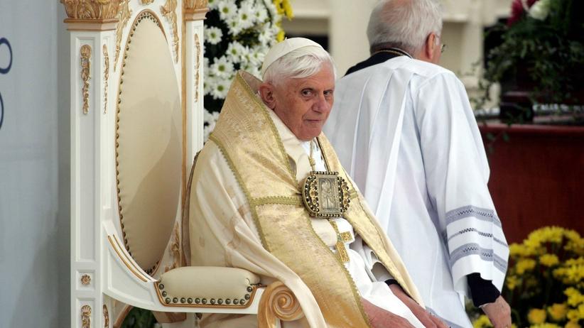 Niepokojący wpis o Benedykcie XVI
