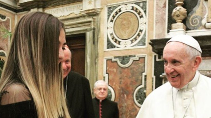 Zaręczyny w Watykanie! Niecodzienna audiencja u papieża Franciszka [WIDEO]