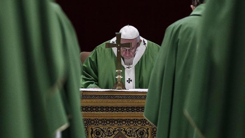 Watykan. Zakończenie szczytu w sprawie pedofilii w Kościele. Papież Franciszek