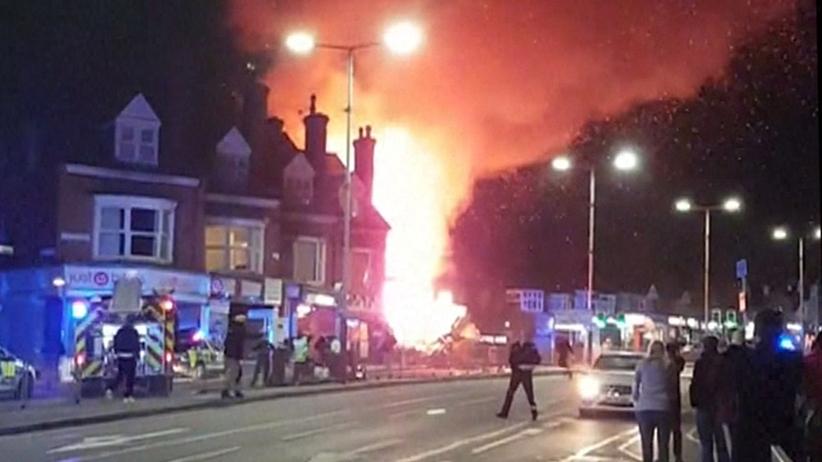 Wielka Brytania. Trzy osoby skazano za podpalenie polskiego sklepu w Leicester