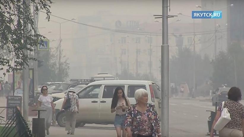 Wielki pożar trawi lasy w Rosji. Płonie 200 tys. hektarów lasów