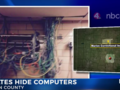 Więźniowie w tajemnicy skonstruowali komputery i urkryli pod sufitem