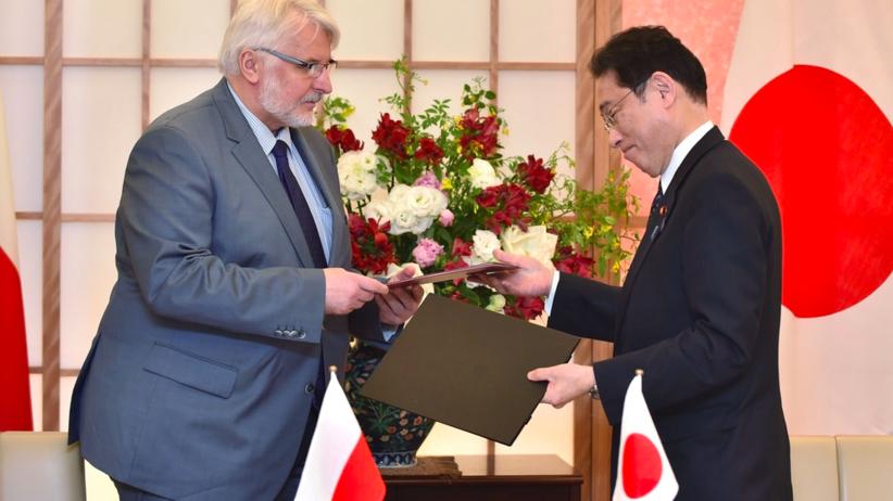 Witold Waszczykowski z wizytą w Japonii: Polska jest atrakcyjnym krajem