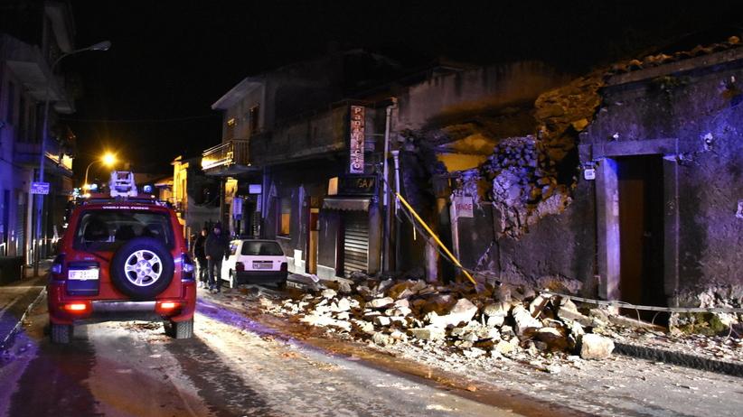 Kolejny wstrząs w rejonie Etny. 28 osób poszkodowanych