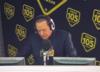 Berlusconi czytał w radiu odpowiedzi z kartki nie wiedząc, że jest kamera [WIDEO]