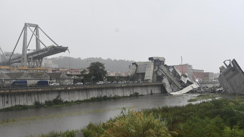 Włochy. Co najmniej 22 ofiary śmiertelne zawalanie się wiaduktu