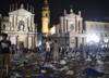 Włoskie media: dwóch młodych mężczyzn podejrzanych o wywołanie paniki w Turynie