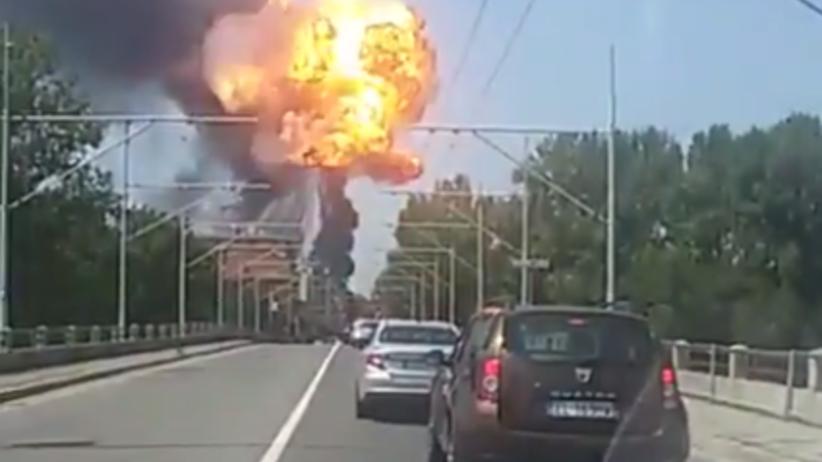 Ogromna eksplozja tira w pobliżu Bolonii. Są ofiary