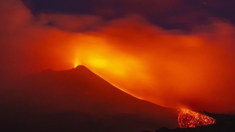 Etna wciąż niestabilna. Możliwa nowa erupcja