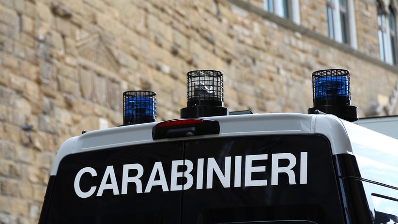 Włochy, policja
