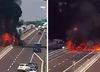 Włochy. Policja opublikowała nagranie z wybuchu w Bolonii