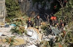 Zawalenie się budynku w okolicy Neapolu