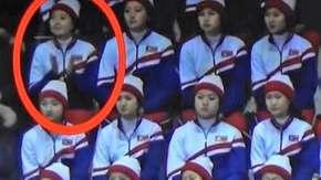 Wpadka północnokoreańskiej cheerleaderki. Może trafić za to do więzienia [WIDEO]