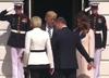 Wpadka Dudy na spotkaniu z Trumpem [WIDEO]