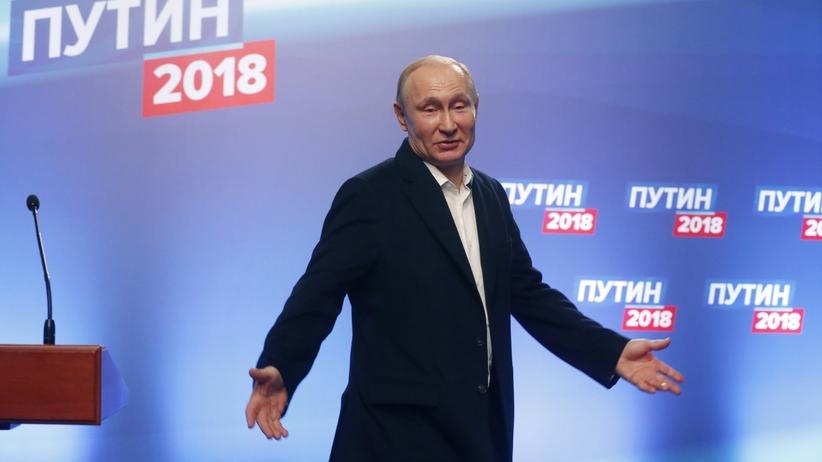 Rosja: Władimir Putin po raz kolejny prezydentem. Uzyskał rekordowe poparcie