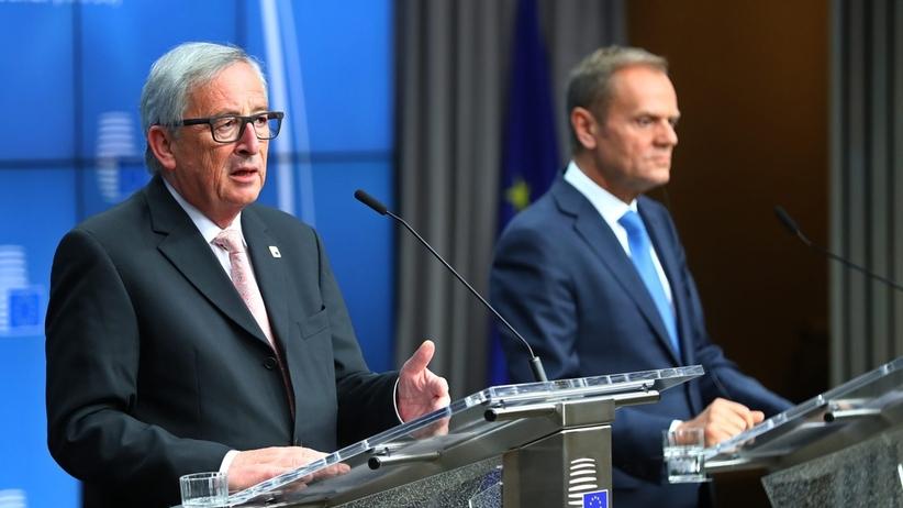Tusk i Junker gratulują Macronowi i Francuzom
