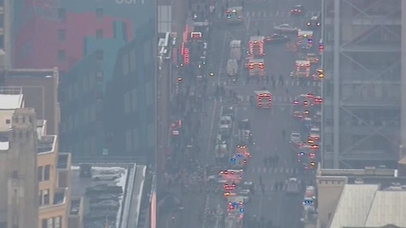 Wybuch na dworcu w Nowym Jorku. Zamachowiec w rękach policji