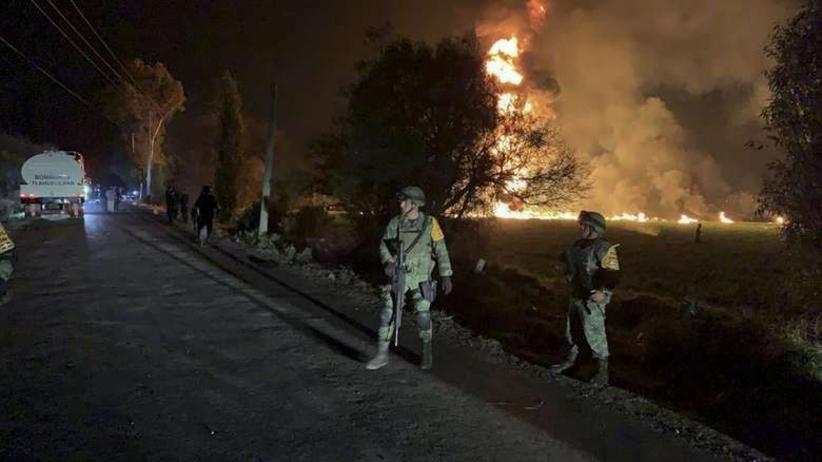 Bilans ofiar po wybuchu rury z ropą. Ponad setka ludzi nie żyje