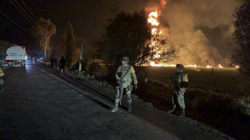 Wybuch w Meksyku. Wzrosła liczba ofiar [WIDEO]