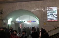 Wybuch w metrze w Petersburgu