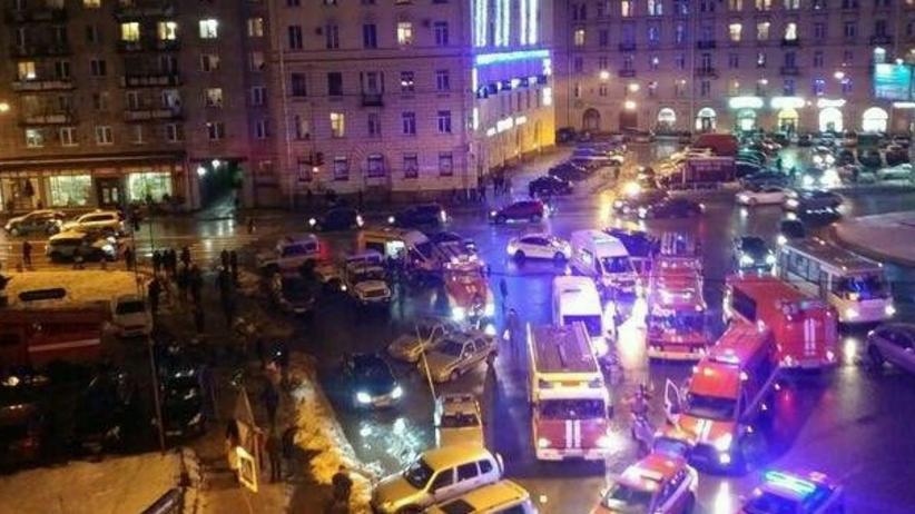 Wybuch w supermarkecie w Petersburgu. Władze mówią o próbie zabójstwa