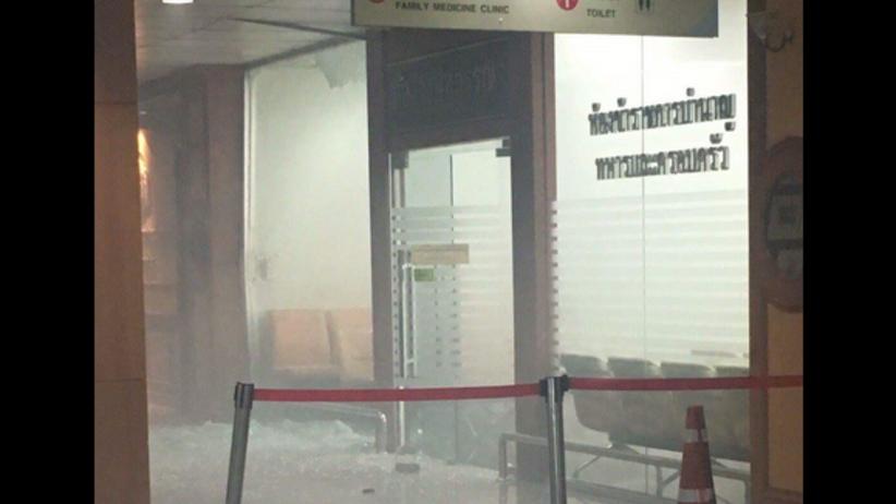 Wybuch bomby w szpitalu w centrum Bangkoku