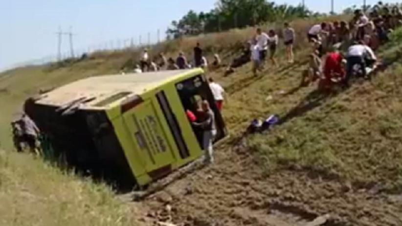 Biuro podróży: jeden z kierowców zginął w wypadku autokaru w Serbii