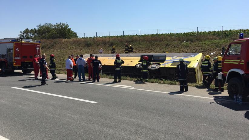 Wypadek polskiego autobusu W Serbii
