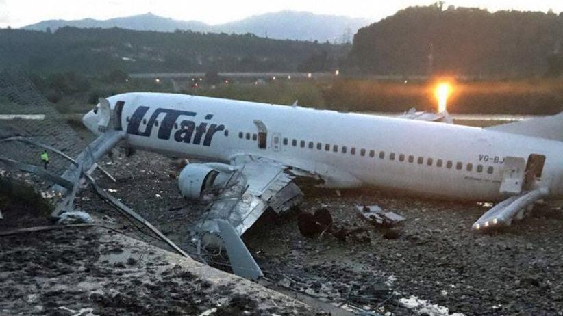 Wypadek samolotu w Soczi. Wielu rannych, w tym dzieci