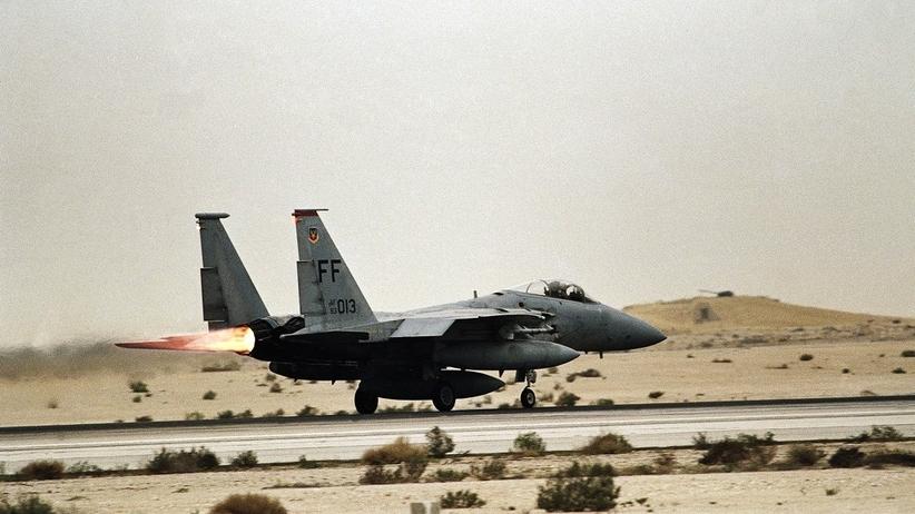 Rozbił się samolot sił powietrznych. Załoga nie żyje