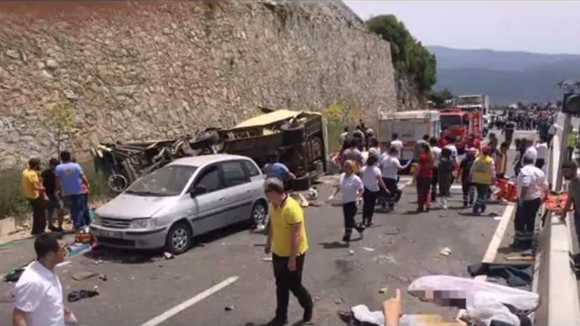 Wypadek autokaru w Turcji. 24 ofiary, głównie matki z dziećmi