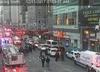 Zamach bombowy na dworcu na Manhattanie. Jest nagranie [WIDEO]